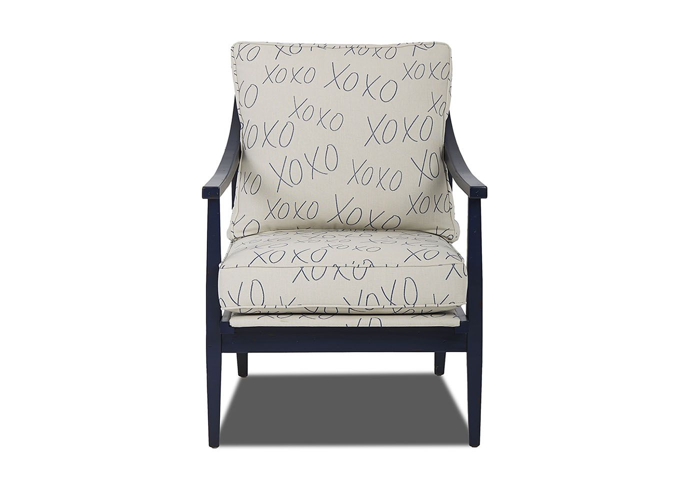 Lynn Stationary Fabric Chair,Klaussner Home Furnishings