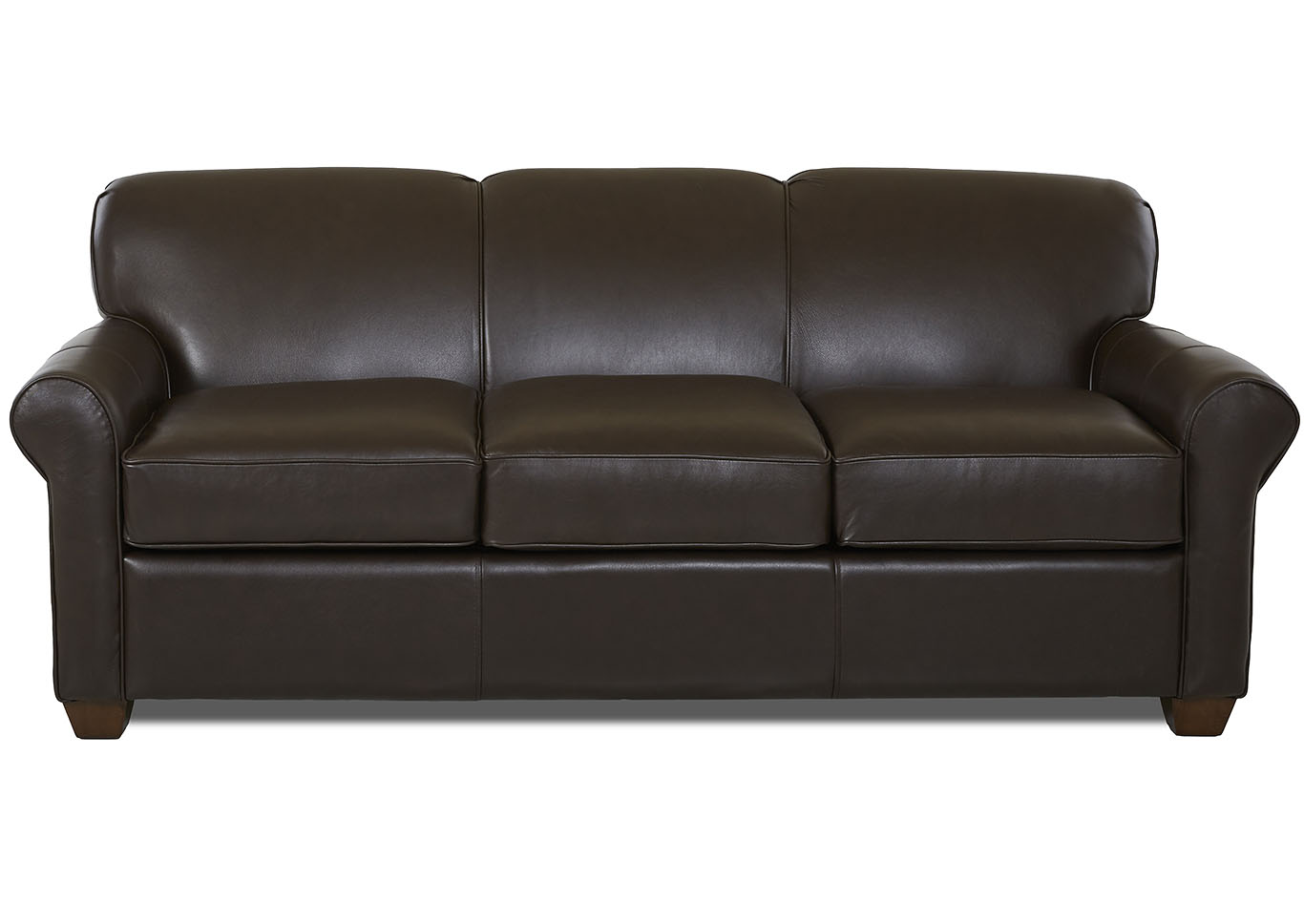 Mayhew Durango Expresso Brown Leather Sleeper Sofa,Klaussner Home Furnishings