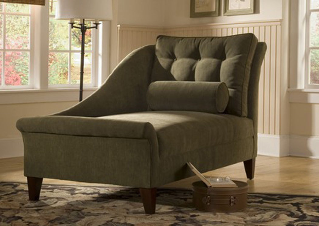 Lincoln Cappucino Chaise Lounge,Klaussner Home Furnishings