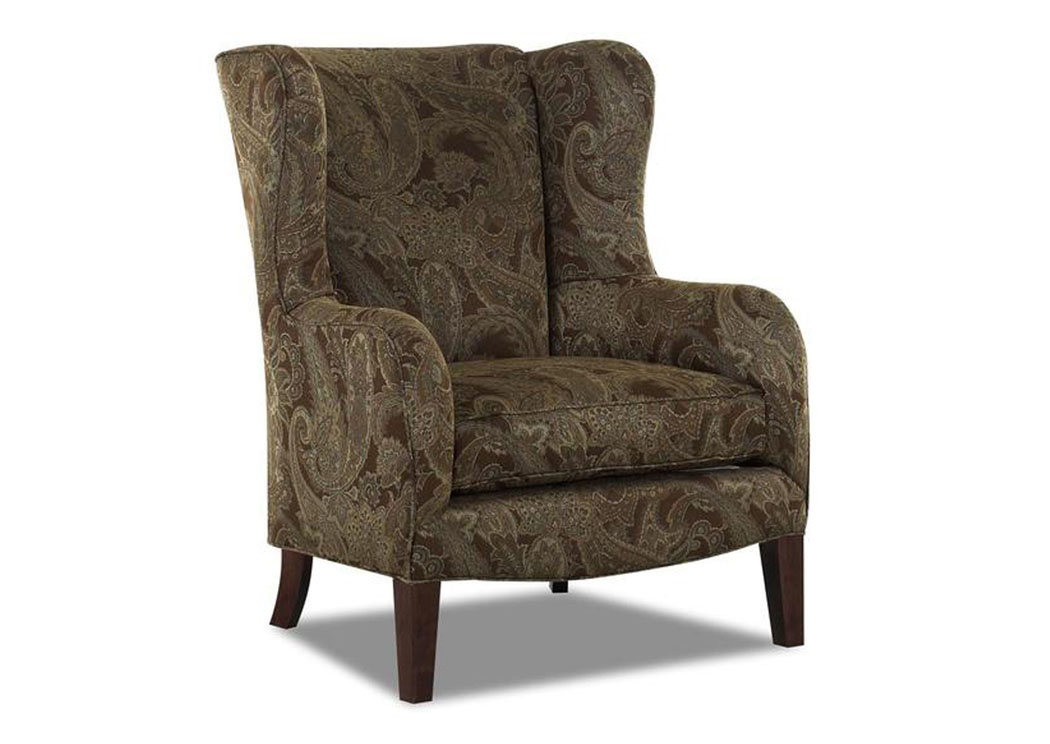 Polo Espresso Chair,Klaussner Home Furnishings