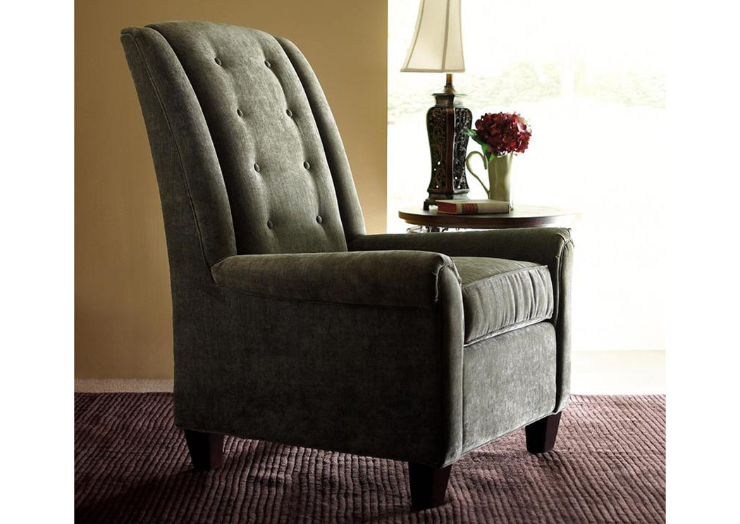 Straight Olive Chair,Klaussner Home Furnishings
