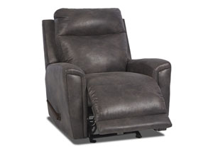 Image for Priest Slate Fabric Reclining Glider Chair