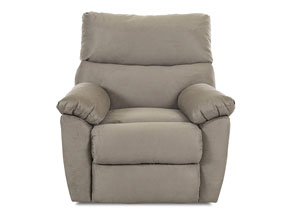Image for Odessa Microsuede Cappuccino Reclining Chair