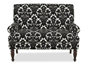 Image for Teasdale Domino Stationary Fabric Loveseat