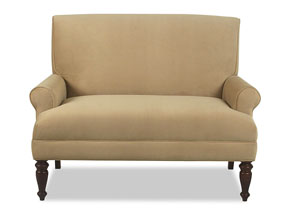 Image for Teasdale Belshire Honey Stationary Fabric Loveseat