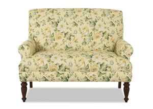 Image for Teasdale Blanton Sunflower Stationary Fabric Loveseat