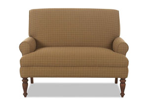 Image for Teasdale Leigh Cafe Stationary Fabric Loveseat