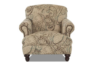 Barnum Boteh Oasis Stationary Fabric Chair