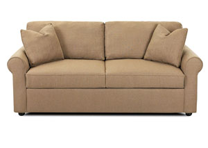 Image for Brighton Hilo Rattan Stationary Fabric Sofa
