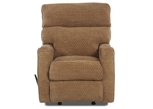 Image for Axis Zumba Honey Reclining Rocking Fabric Chair