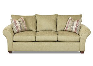Fletcher Sage Stationary Fabric Sofa