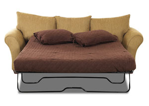 Fletcher Bronze Stationary Fabric Sleeper Sofa