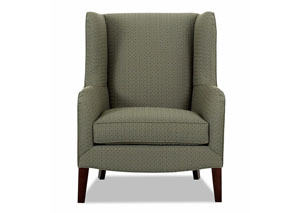 Polo Aegean Green Stationary Fabric Chair