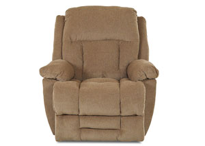 Biscayne Brees Tan Reclining Fabric Chair