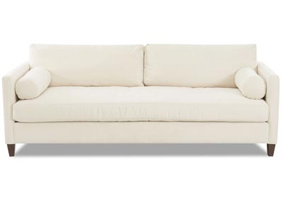 Brinley Bull Natural Stationary Fabric Sofa