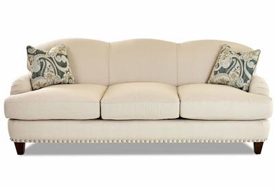 Albion Cream Fabric Sofa