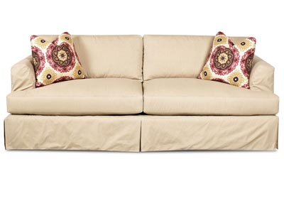 Bentley Dune Stationary Striped Sofa