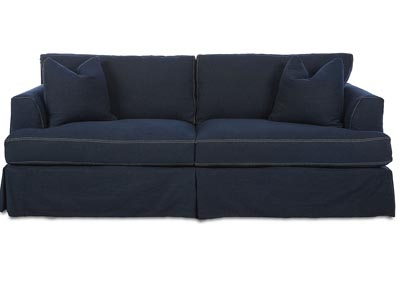 Bentley Classic Melrose Stationary Fabric Sofa