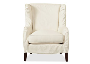 Polo Ranger Twill Natural Stationary Fabric Chair