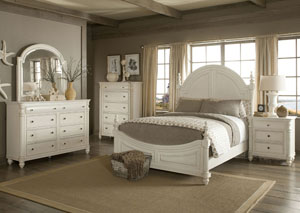 Eastport Queen Poster Bed, Dresser & Mirror