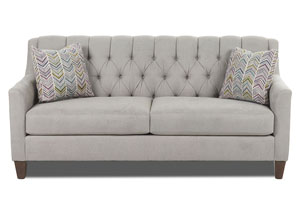 Laguna Gray Stationary Fabric Sofa
