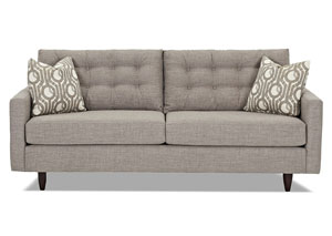 Craven Fandango Stone Stationary Fabric Sofa