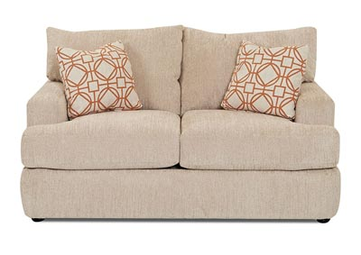Oliver Stationary Fabric Loveseat