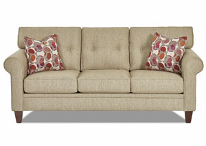Image for Gates Stone Stationary Fabric Sofa