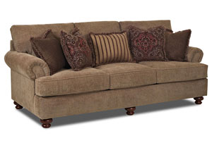 Greenvale Applause Desert Stationary Fabric Sofa