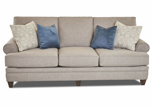 Fresno Stone Stationary Fabric Sofa