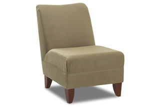 Linus Olive Armless Chair