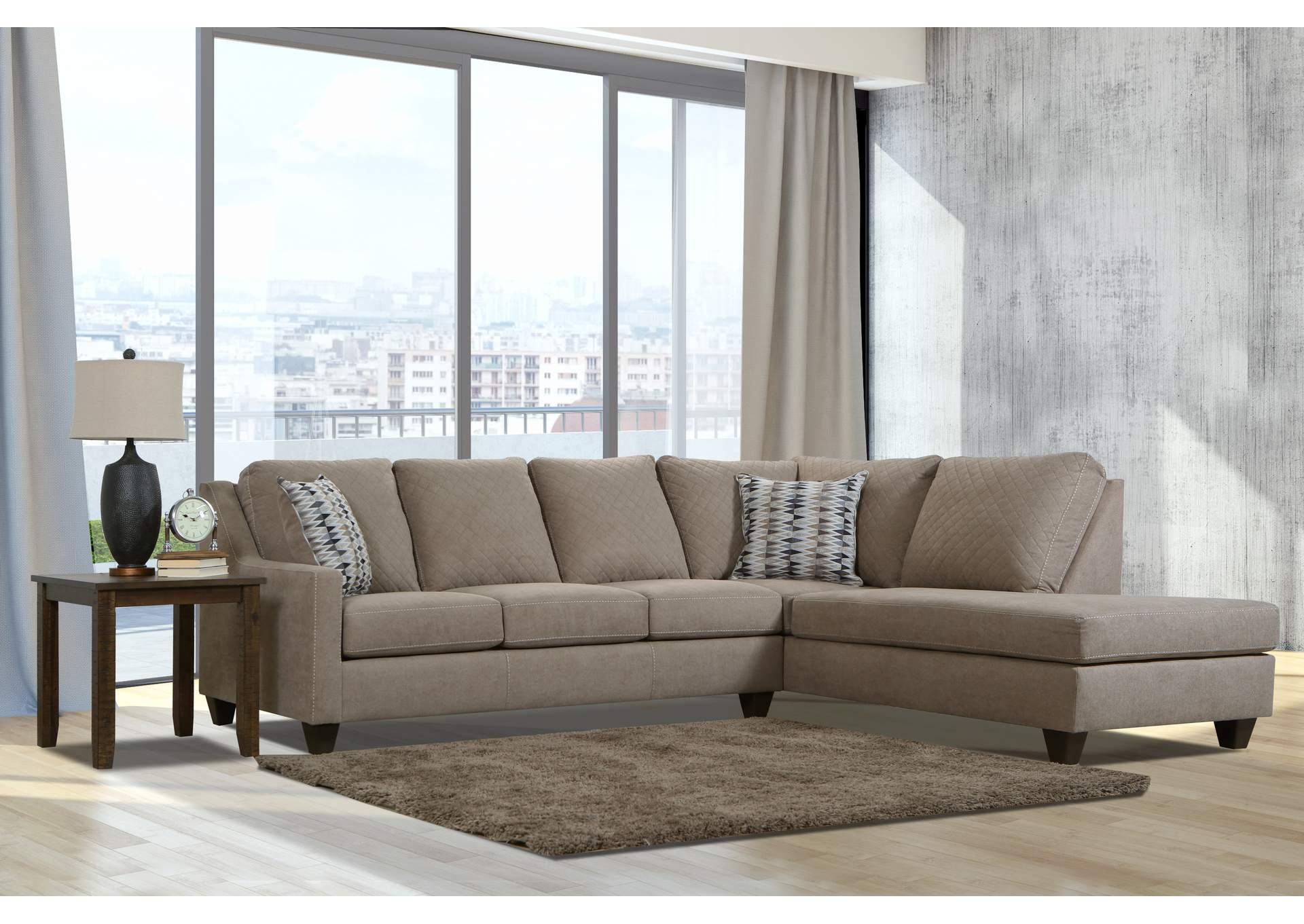 2096 Bianco Sofa - Pacific Tan / Jagged Earth,Lane Furniture