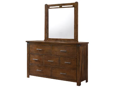 Image for 1022 Logan Twin Bed with Dresser & Mirror