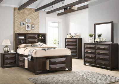 Image for 1035 Anthem Full Storage Bed with Dresser & Mirror