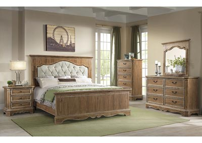 Image for 1048 Cottage Charm Queen Bed
