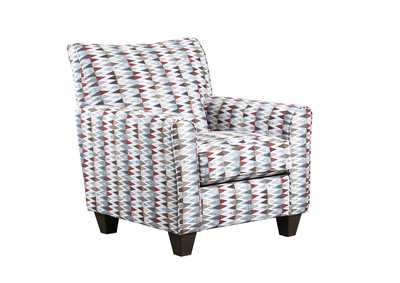Image for 2037 Stevens Accent Chair - Jagged Cayenne