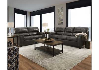 Image for 2038 Montego Two Piece Sectional with RAF Bump Chaise - Soft Touch Fog