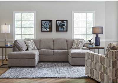 Image for 2080 Calhoun Two Piece Sectional with RAF Sofa Chaise - Reed Cloud / Adventure Driftwood