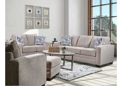 Image for 2084 Newberry Sofa - Copeland Putty / Linus Slate