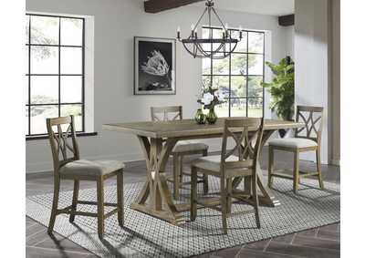 Image for 5019 Chadwick 5-Piece Counter Height Dining Set