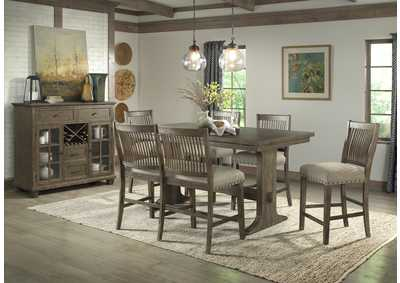 Image for 5040 Charleston 5-Piece Counter Height Dining Set