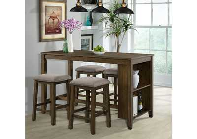 Image for 5046 5-Piece Space Saver Pub Dining Set