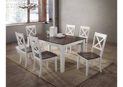 Image for 5057 A La Carte White Casual Dining Collection