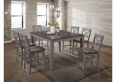 Image for 5059 A La Carte Gray Casual Dining Collection