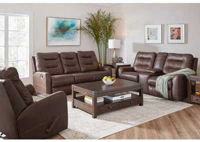 Image for 56417 Double Motion Loveseat with Console