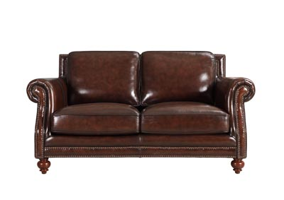Image for Dallas 1502 Hickory Brown Loveseat