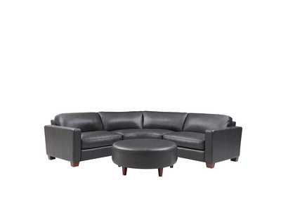 Image for Brent 6700 Charcoal 3 Piece Sectional W/ Ottoman
