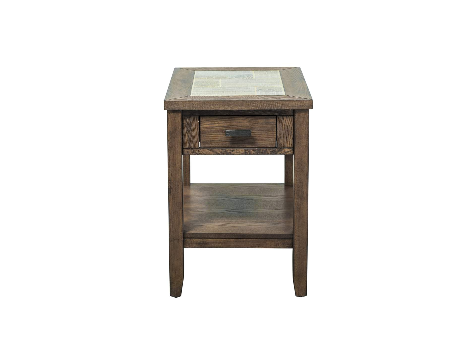 Mesa Valley Tobacco Chair Side Table,Liberty
