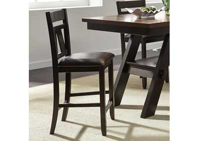 Image for Lawson Espresso Splat Back Counter Chair (RTA)