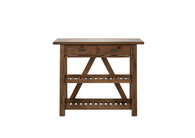 Image for Farmhouse Weathered Oak Server